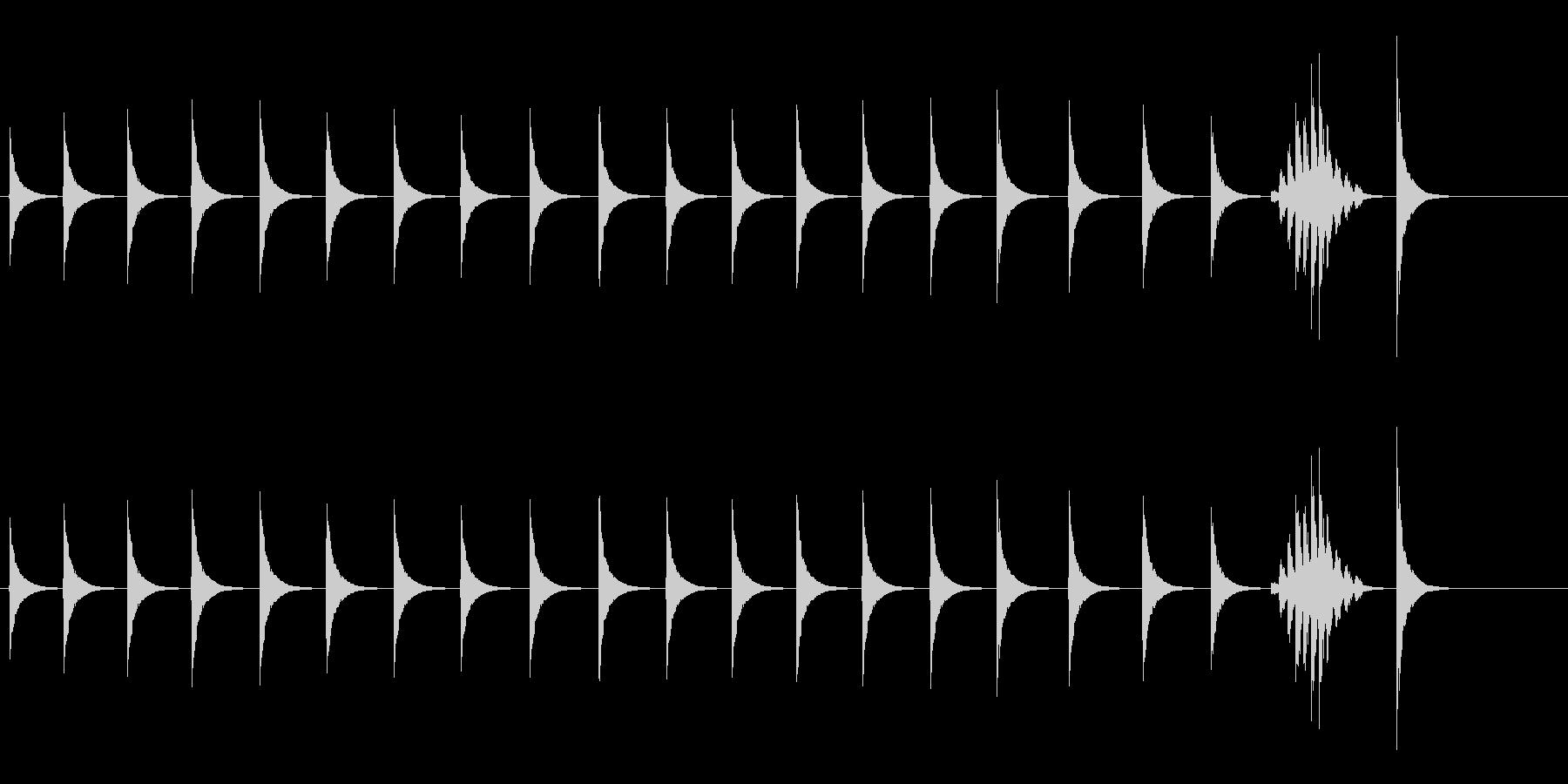 大太鼓4雪音雪音歌舞伎情景描写和風和太鼓の未再生の波形