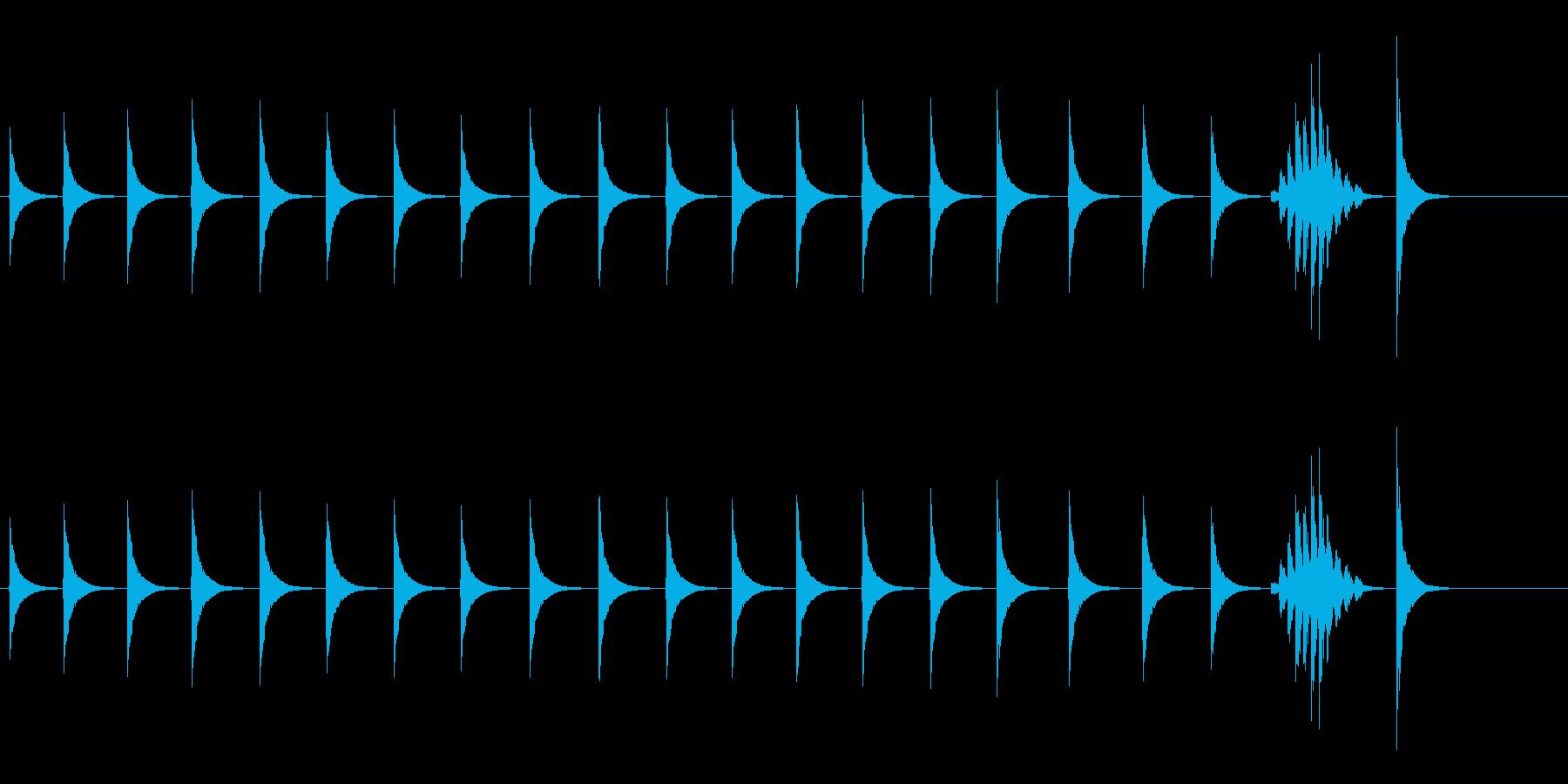 大太鼓4雪音雪音歌舞伎情景描写和風和太鼓の再生済みの波形