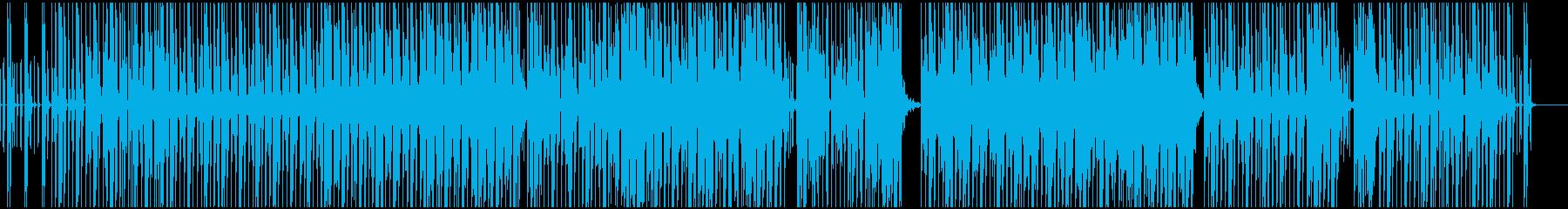 都会的ロートーンな(テック)ハウスEDMの再生済みの波形