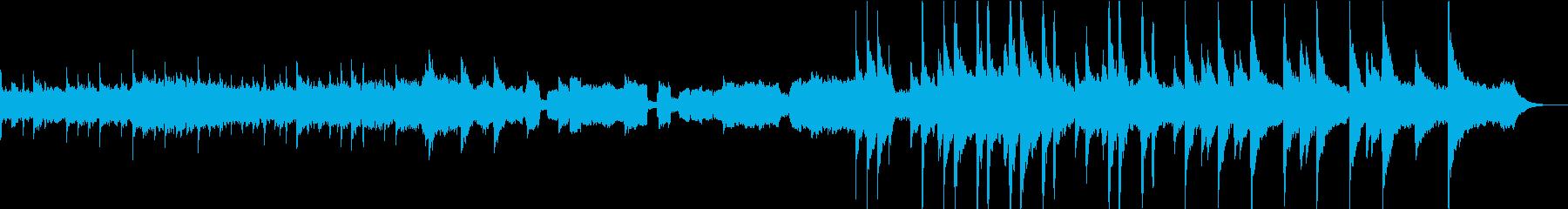 どこか懐かしいRPG風の落ち着いたBGMの再生済みの波形