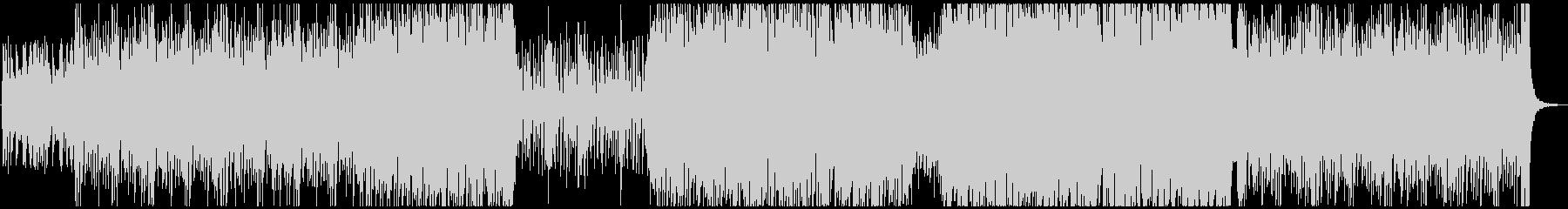 疾走するピアノトリオジャズの未再生の波形