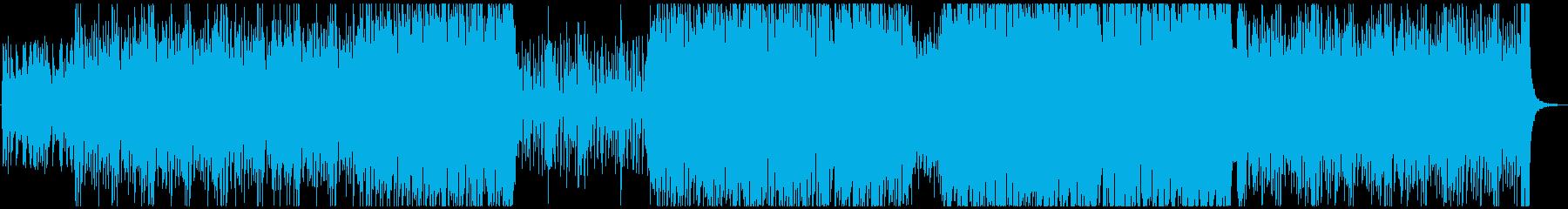 疾走するピアノトリオジャズの再生済みの波形