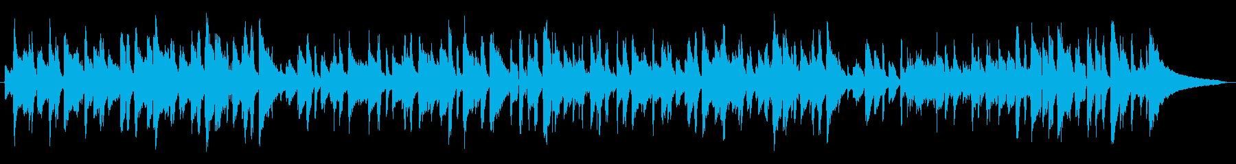 ピアノトリオによるジャズの再生済みの波形