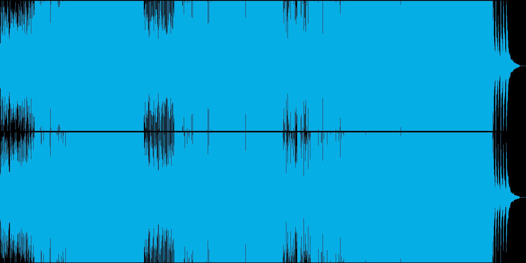 激しいスパニッシュ系BigroomEDMの再生済みの波形