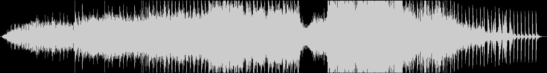 勢いと音の強弱が特徴的なメロディーの未再生の波形