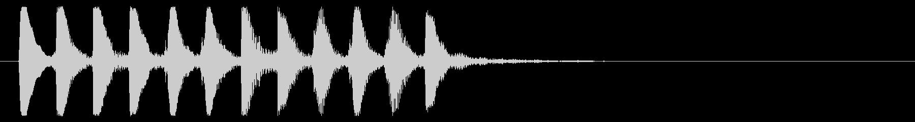 8ビット風システム音-16-3_revの未再生の波形