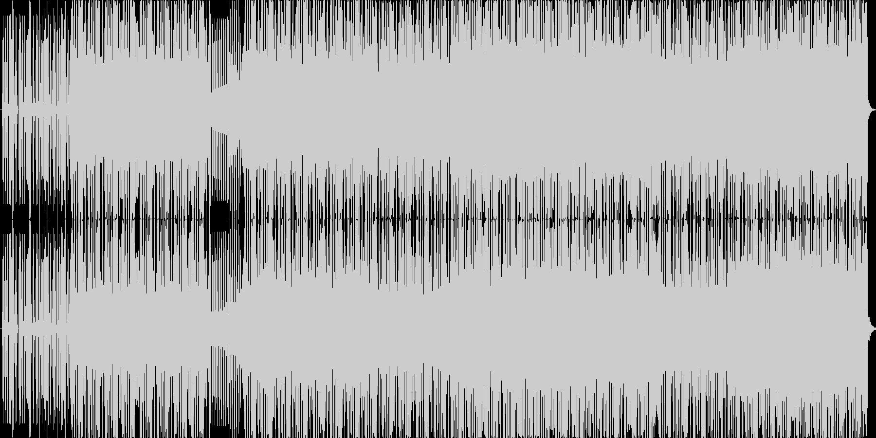 ゲームなどで使えそうな曲かと思います。の未再生の波形