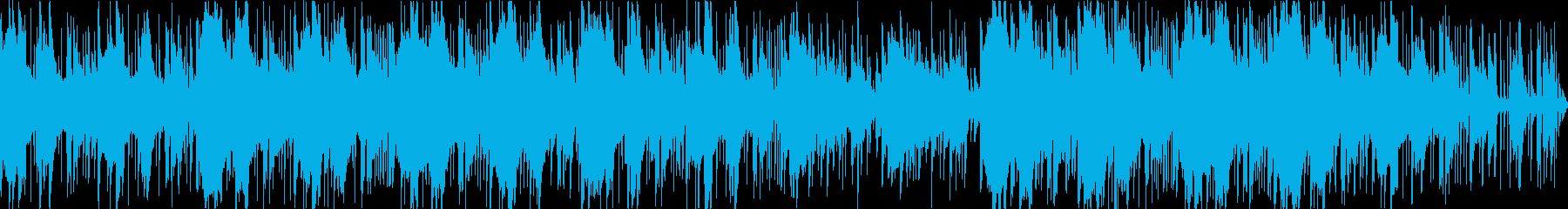 インドの楽器を使ったBGMですの再生済みの波形
