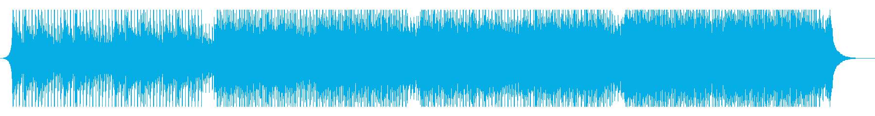 成功の国歌の再生済みの波形
