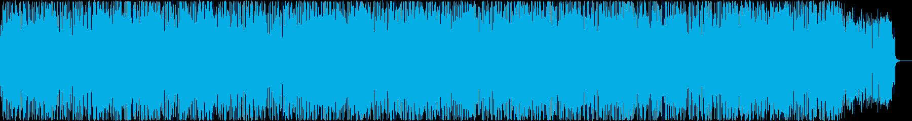 CM、企業VPFuture Bass aの再生済みの波形