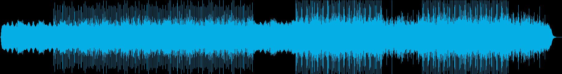 クールなダンスチューン インストの再生済みの波形