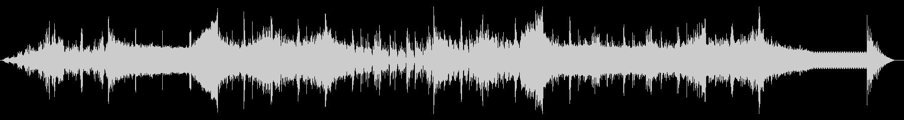 デジタルビープなテクスチャIDMの未再生の波形