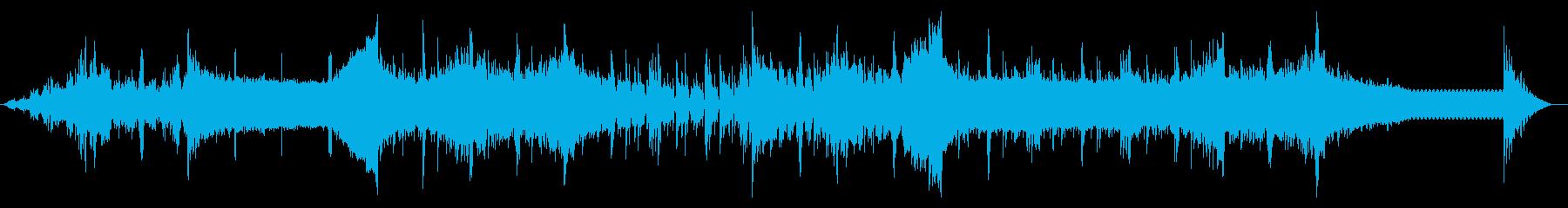 デジタルビープなテクスチャIDMの再生済みの波形
