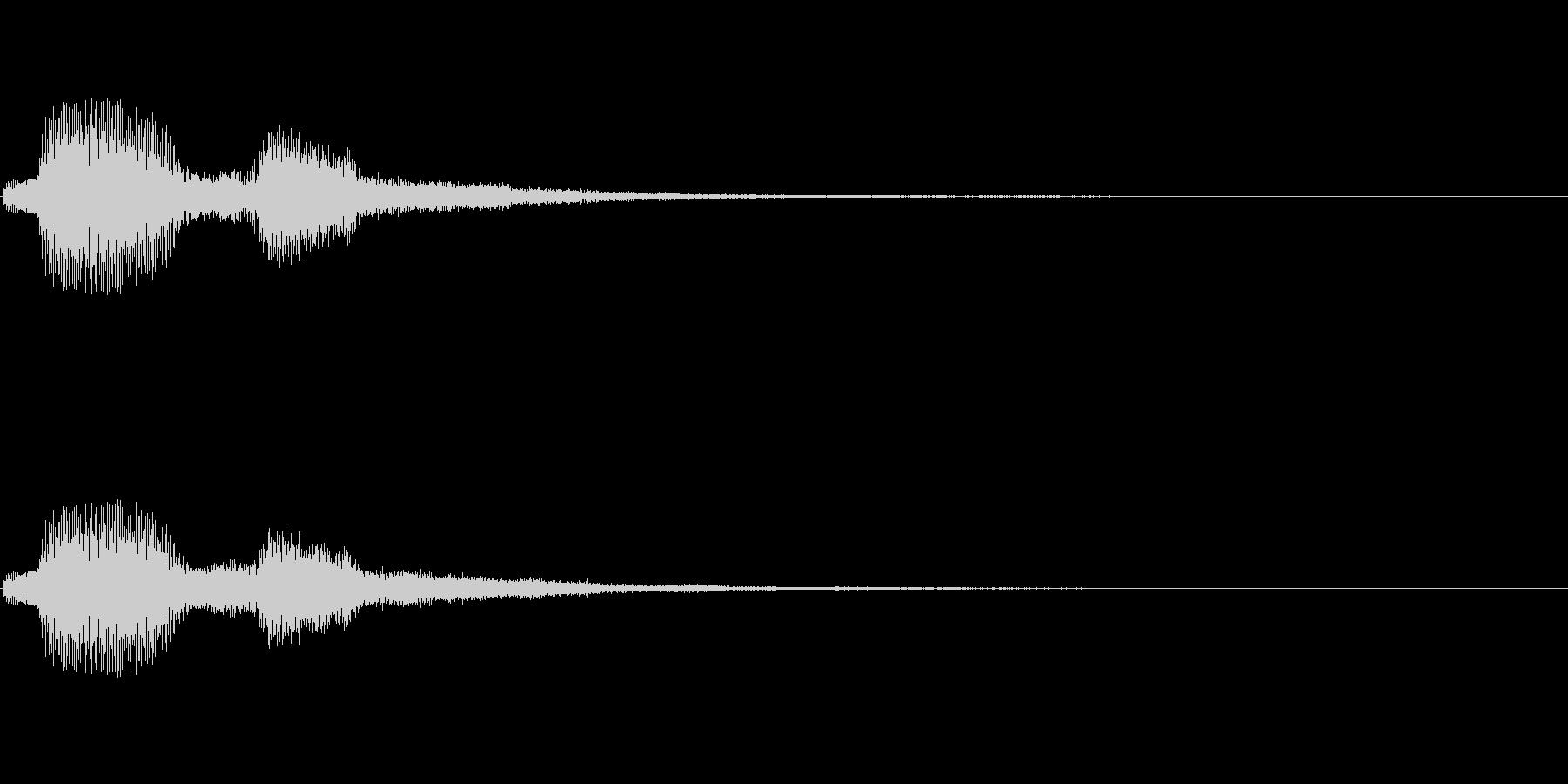 [パフッ]ゲーム開始(コミカル)の未再生の波形