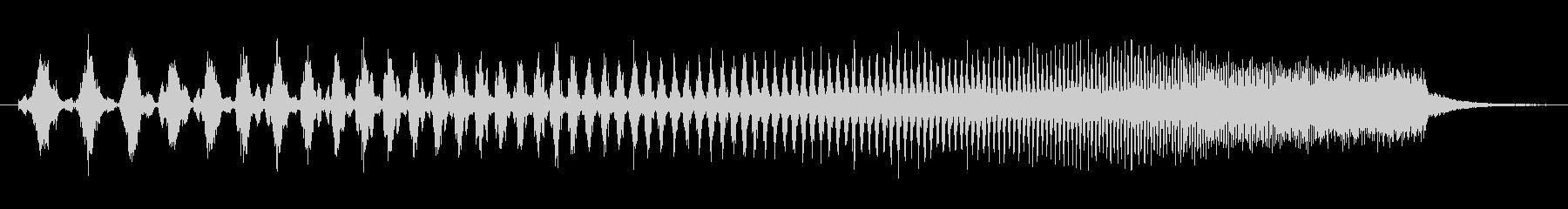 上昇 ダブステップウォブルベースロー01の未再生の波形