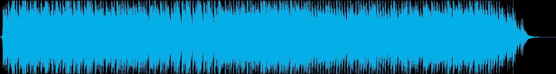 ハロウィン風の行進曲の再生済みの波形