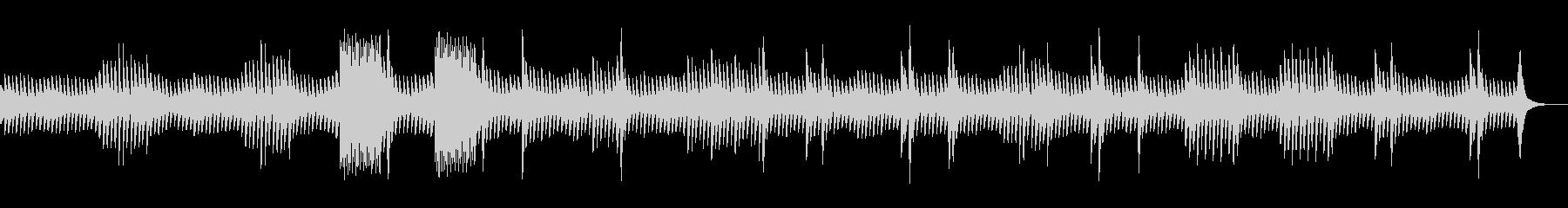 グノシエンヌ No.4_オルゴールverの未再生の波形