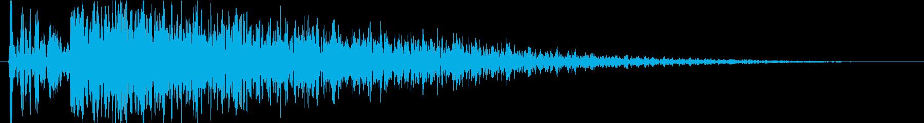 衝撃 エアストライク21の再生済みの波形
