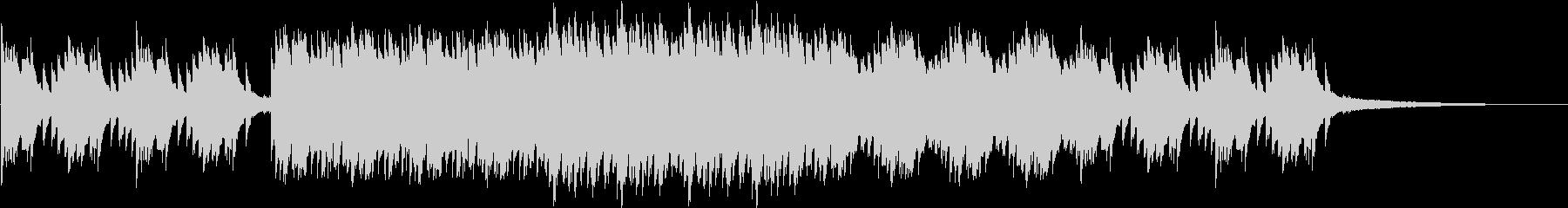 切ないゲームなどに合いそうなピアノ曲1の未再生の波形