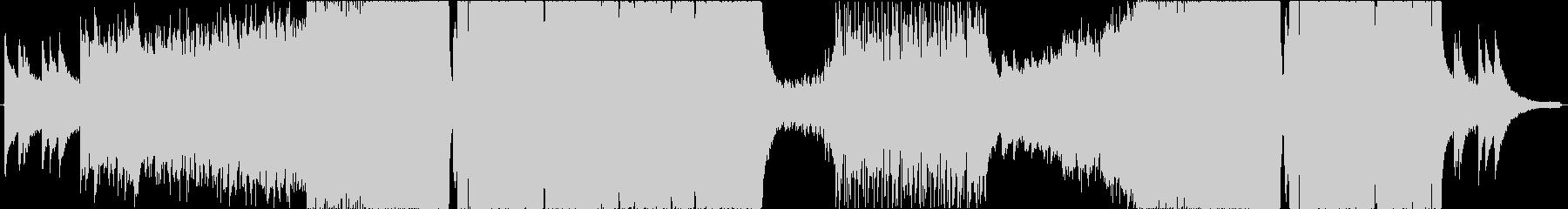 トランス系ダブステップの未再生の波形
