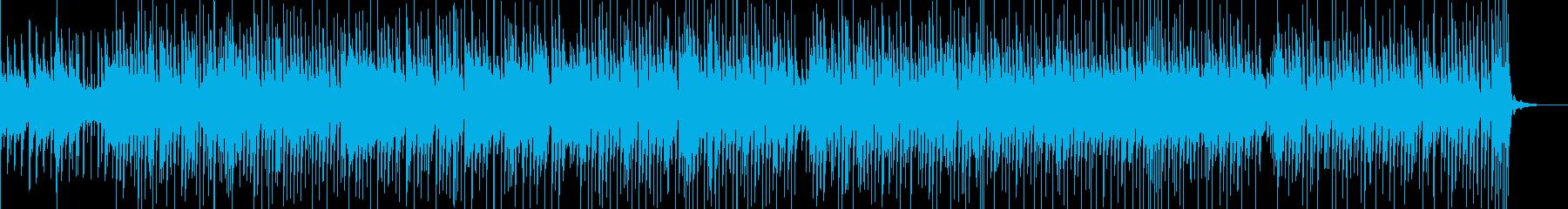 切なく爽やかな雰囲気のBGMの再生済みの波形