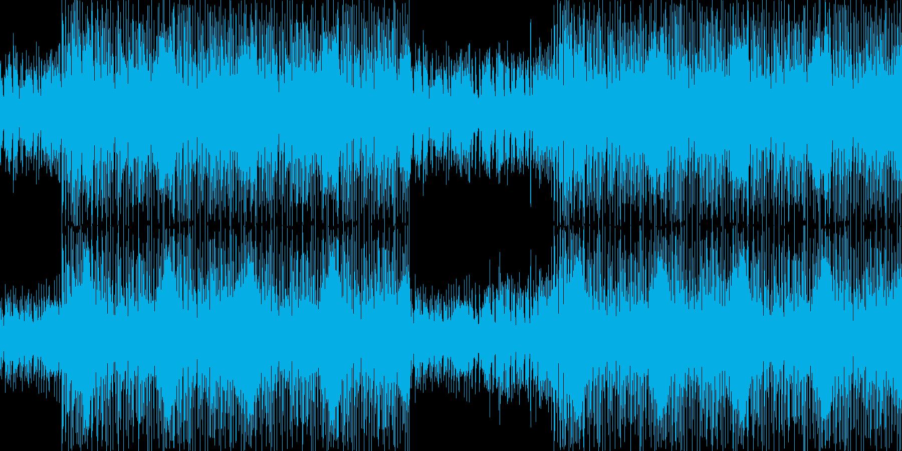 【ダークな雰囲気、ピアノロック・戦闘】の再生済みの波形