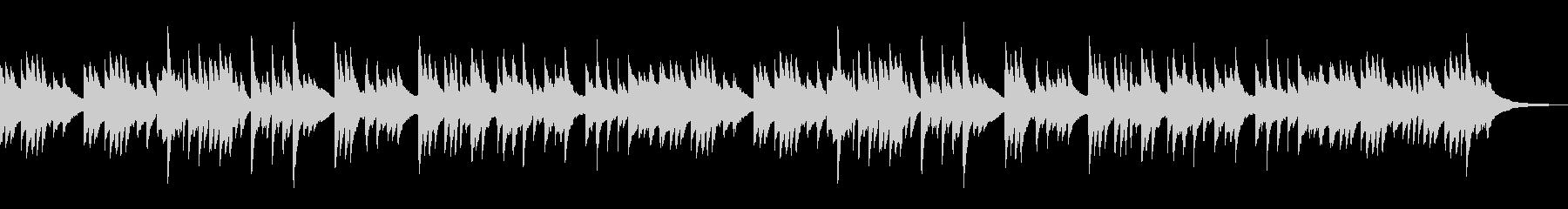 静かな印象で切ない和風なピアノBGMの未再生の波形