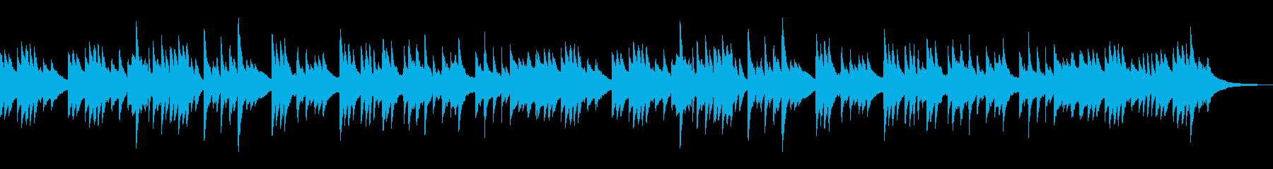 静かな印象で切ない和風なピアノBGMの再生済みの波形