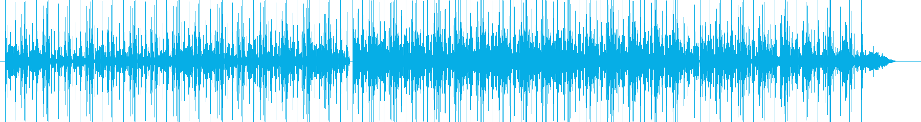 オーガニックなBGMの再生済みの波形
