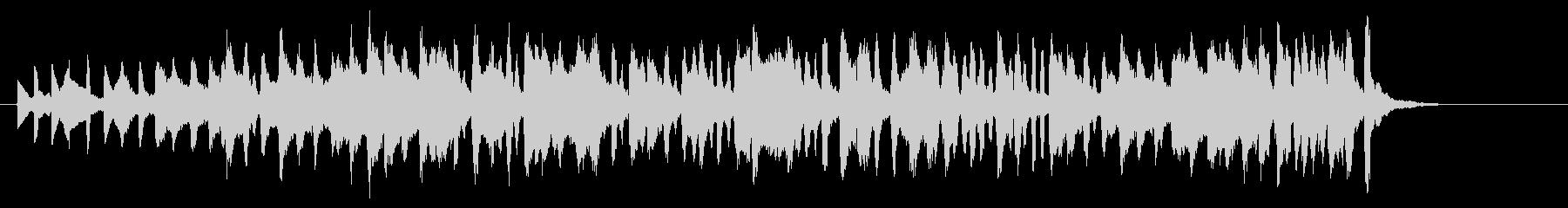 メルヘンポップなアコーディオンジングルの未再生の波形