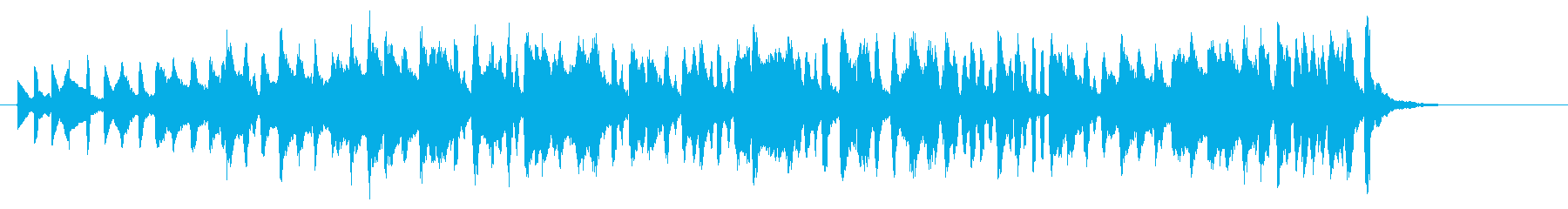 メルヘンポップなアコーディオンジングルの再生済みの波形