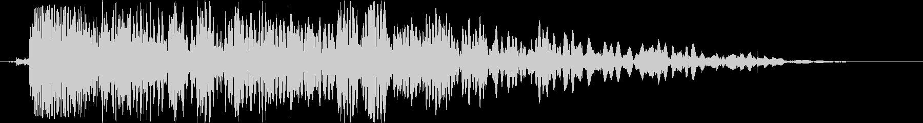 バッテリーラム:シングルスローイン...の未再生の波形