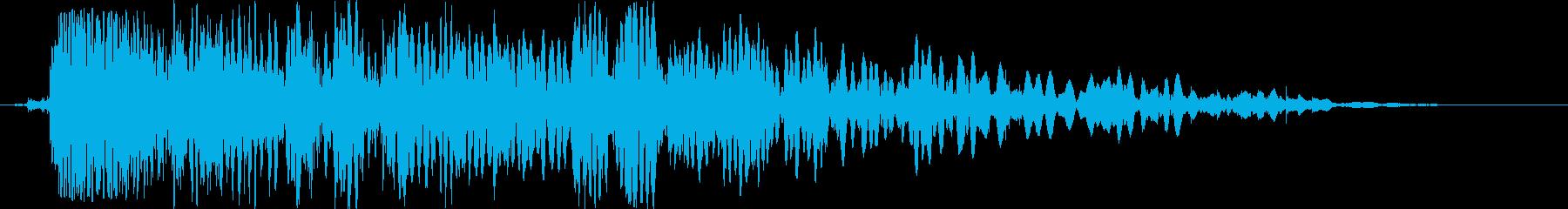 バッテリーラム:シングルスローイン...の再生済みの波形