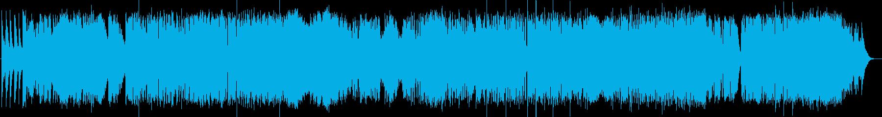 英語洋楽:後期ビートルズ・牧歌風プログレの再生済みの波形