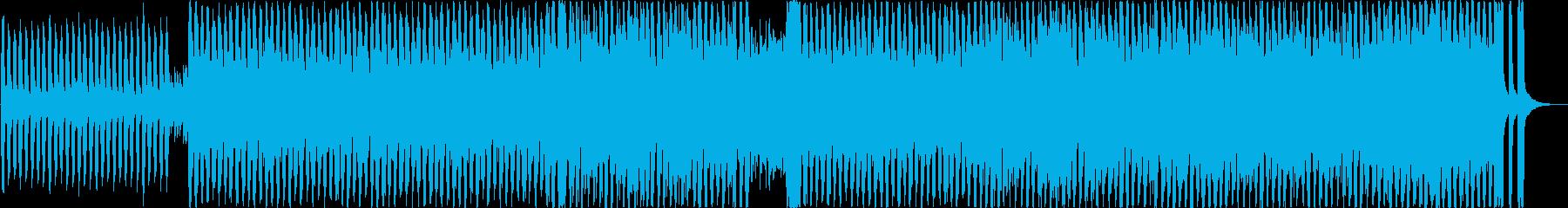 前向きで爽やかなEDMの再生済みの波形
