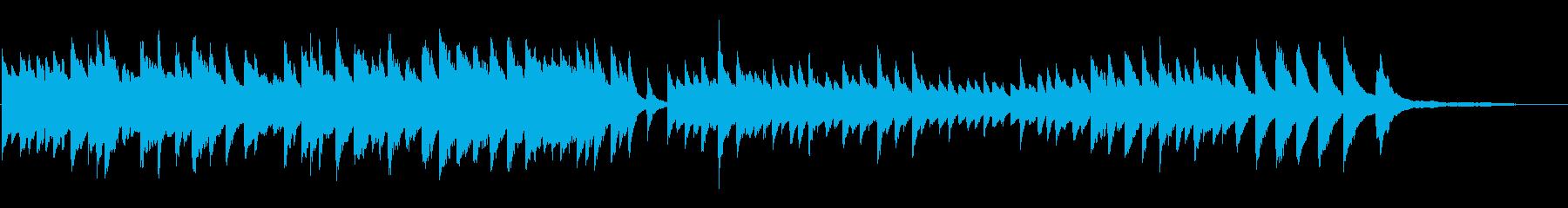 童謡「たなばたさま」ピアノソロの再生済みの波形
