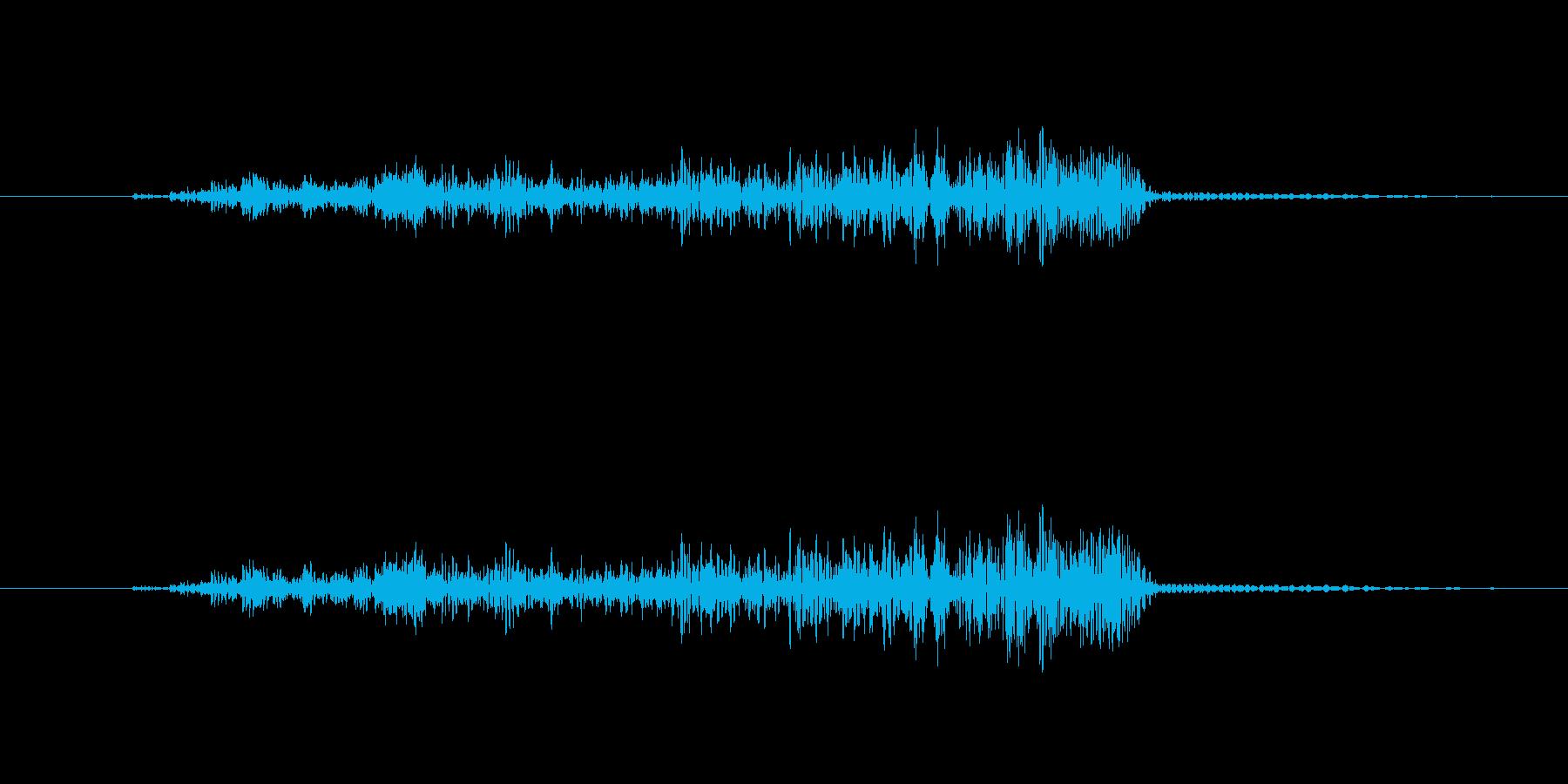 うっの再生済みの波形