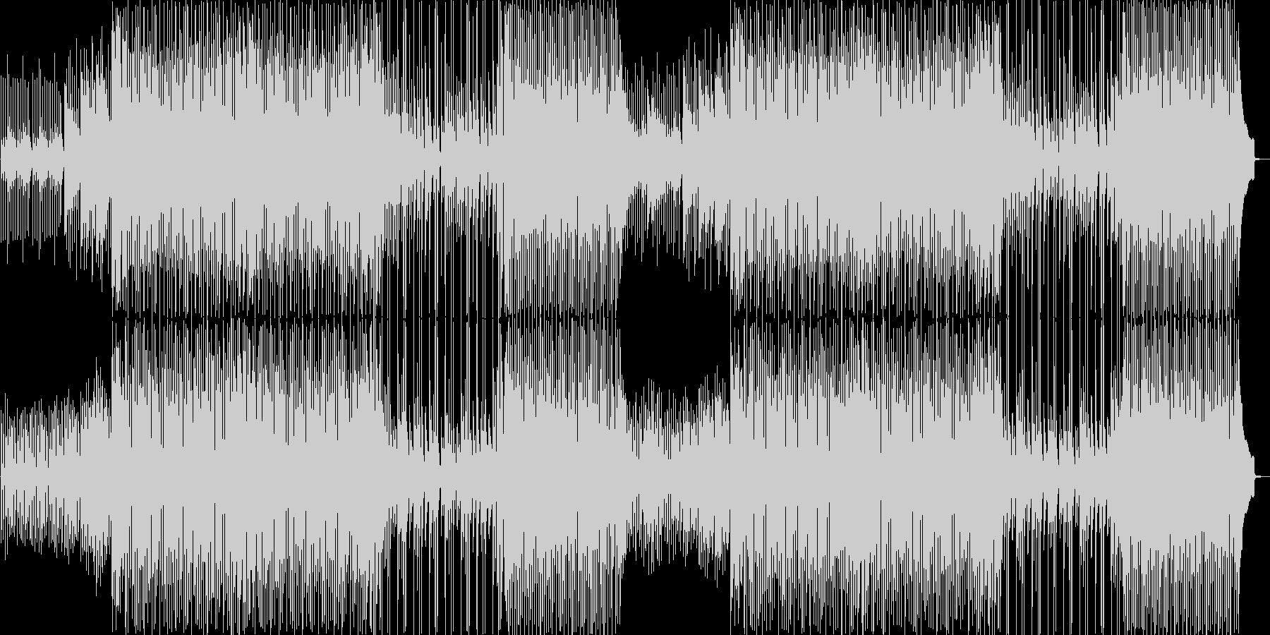 流行のコンセプトムービーBGMサウンド③の未再生の波形