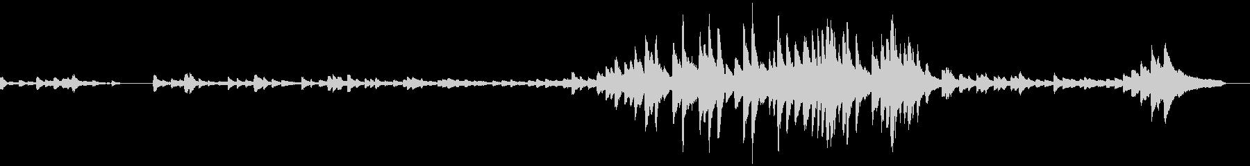 G/涙流れるピアノソロ/映像制作向けの未再生の波形