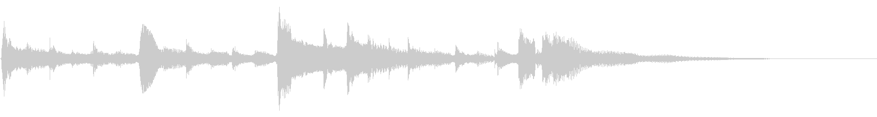 ★アコギ33/生音、ジングル、悲しいの未再生の波形