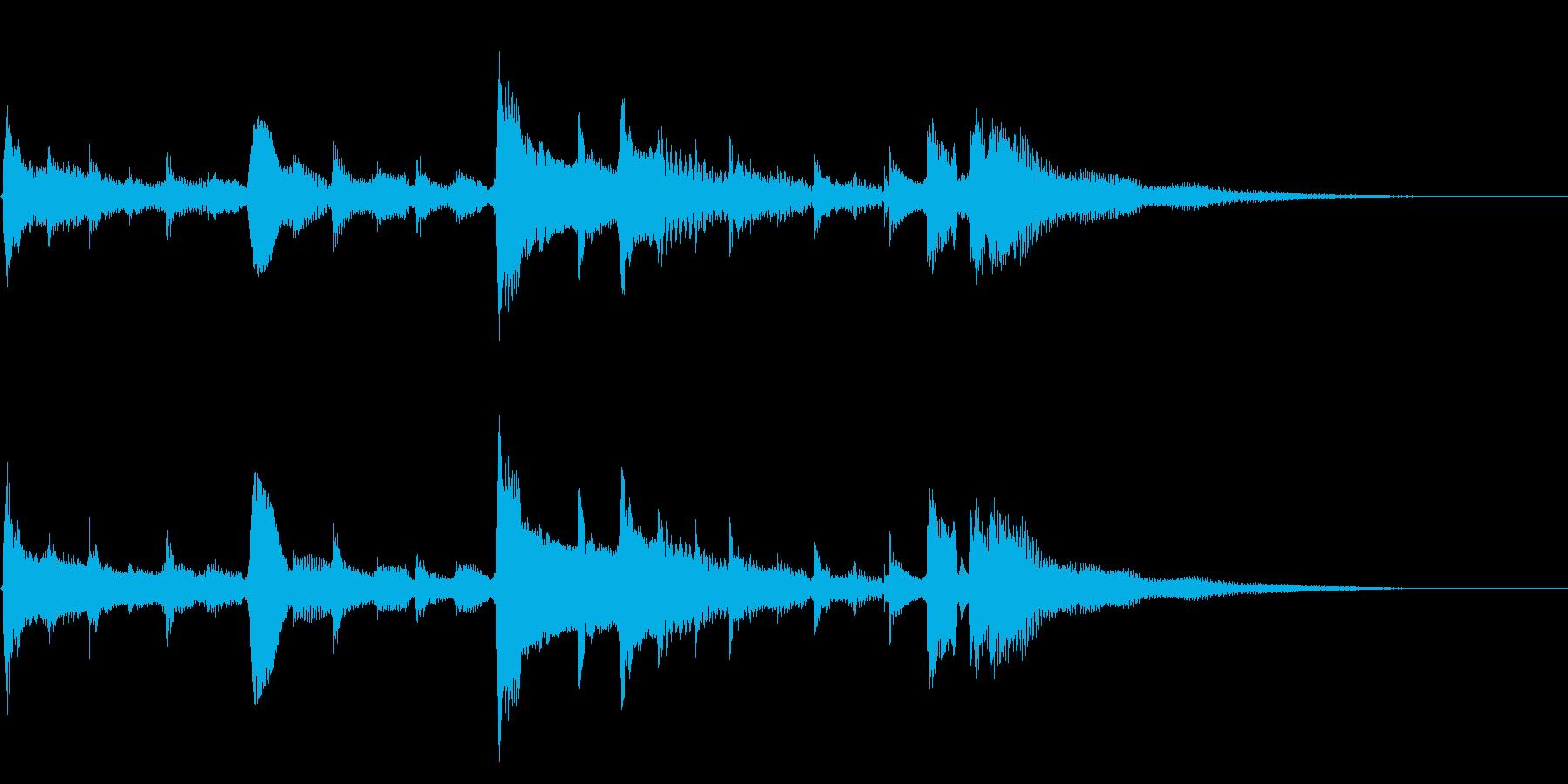★アコギ33/生音、ジングル、悲しいの再生済みの波形