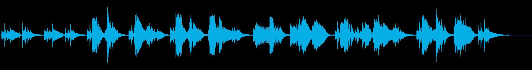サックスとギターでの切ない曲です。の再生済みの波形