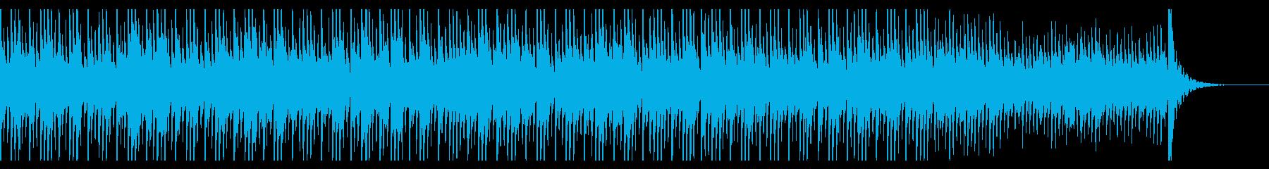 ミステリアスなゲームミュージックの再生済みの波形