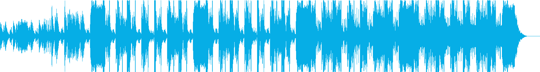 緊迫感のあるヒップホップ ショート版の再生済みの波形