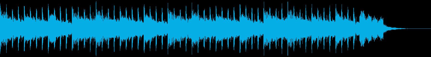 作業中(37秒)の再生済みの波形