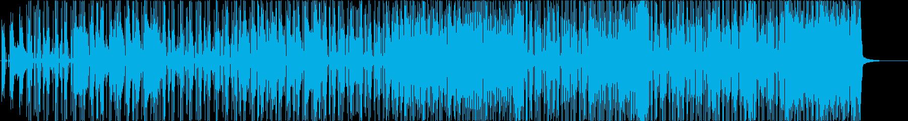 クロールの再生済みの波形