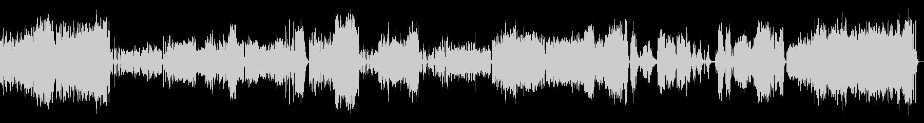 ピアノ協奏曲3楽章(オーケストラ)の未再生の波形