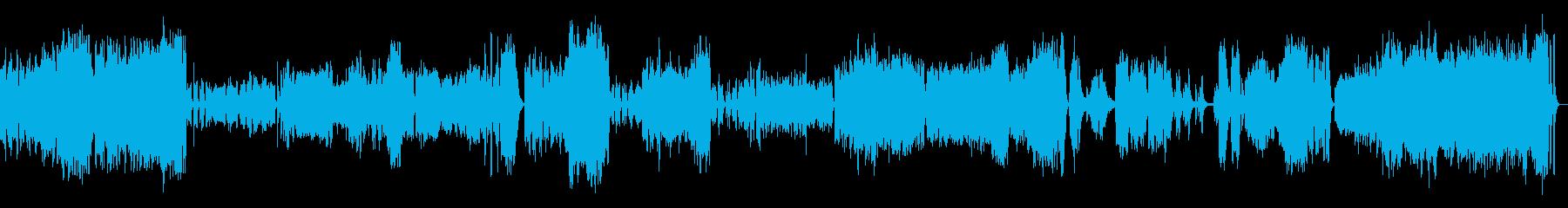 ピアノ協奏曲3楽章(オーケストラ)の再生済みの波形