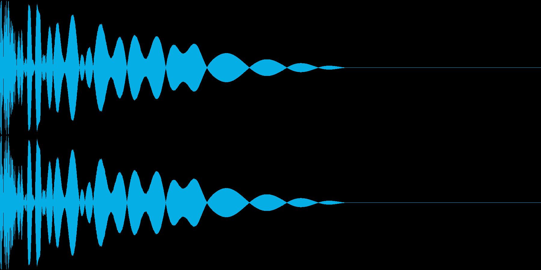 DTM Kick 47 オリジナル音源の再生済みの波形