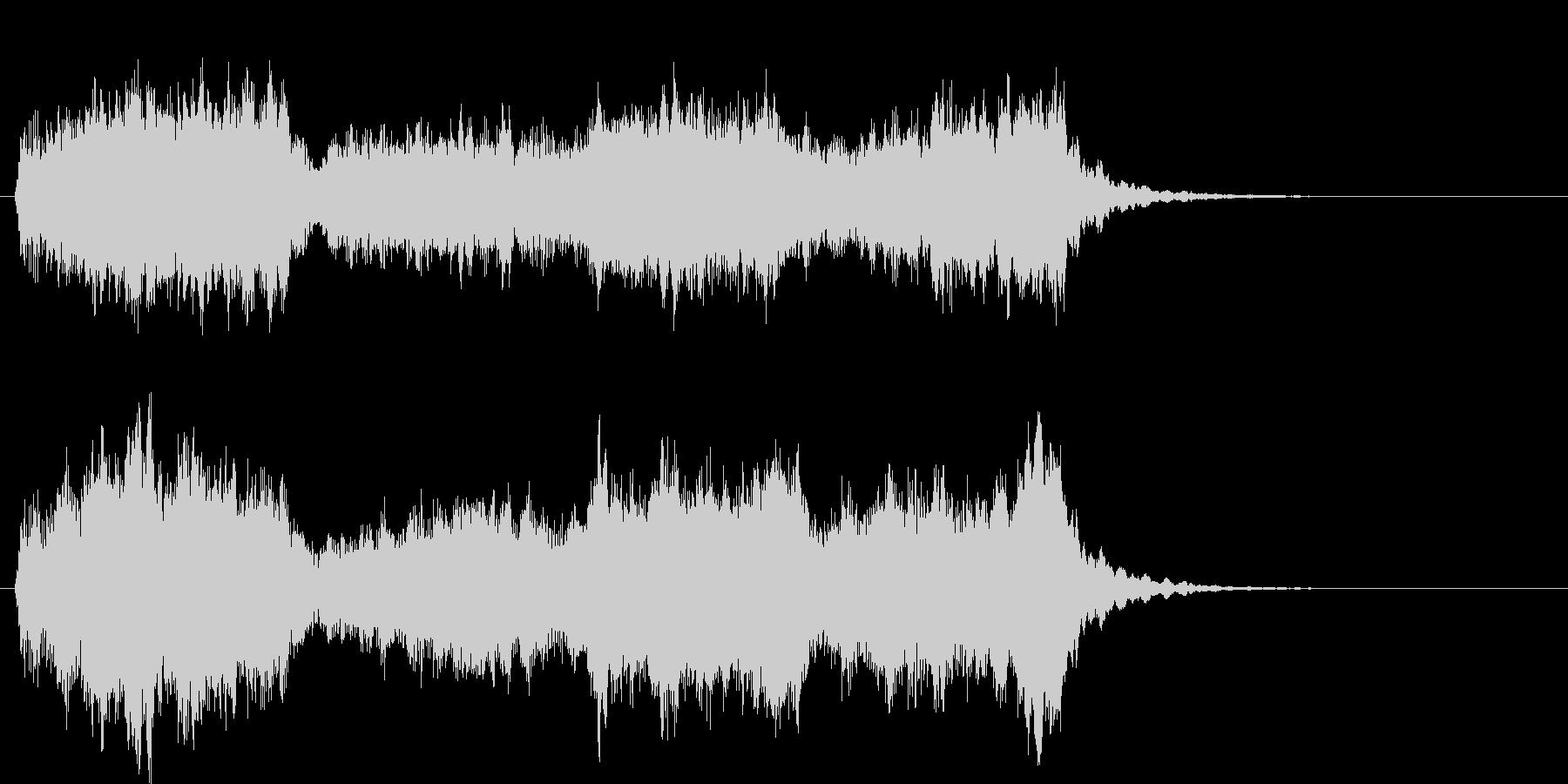ストリングスオーケストラ調の未再生の波形